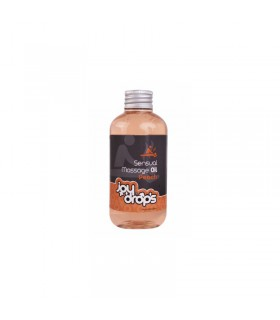 SENSUAL MASSAGE OIL - 250ML - PEACH